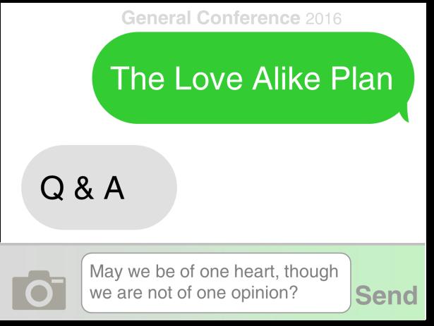 Love Alike Q & A